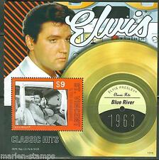ST. VINCENT GRENADINES  2013  ELVIS PRESLEY BLUE RIVER S/SHEET MINT NH