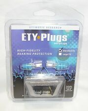 Standard Musician Hearing Protection Ear Plugs Blue ETY Plugs