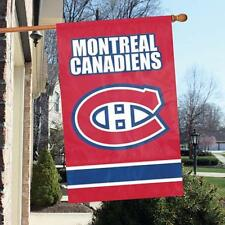 "Montreal Canadiens Applique NHL Licensed 28"" x 44"" Banner / Flag - Free Shipping"