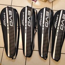 Lot Of 4 Singles Dunlop Badminton Bags**ships Fast**