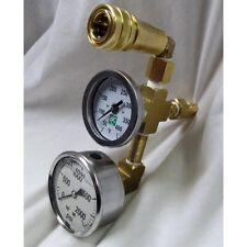 """Truckmount and Portable Pressure and Temperature """"Billy"""" Gauge Tester"""