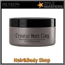 Wax hair matt CLAY Style Masters Revlon fixing strong finish matt DRAFT