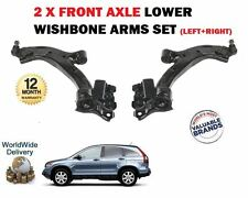 FOR HONDA CRV 2.0 2.2 CDTi 2007-2010 LEFT+ RIGHT LOWER 2 WISHBONE SUSPENSION ARM
