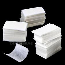 200 Lint Free Nail Art Manicure Polish Remover Cleaner Wipe Cotton Pads Paper