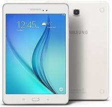 """Samsung Galaxy Tab A, 8"""" 16GB WiFi White 1.2Ghz Quad Core, 1.5 GB Ram SM-T350"""