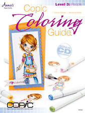 COPIC COLORING GUIDE LEVEL 3: PEOPLE-Marker Card Making Paper Craft Idea Book-CD