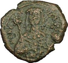 Manuel I , Comnenus 1143Ad Ancient Byzantine Coin Labarum Saint George i40108