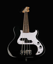 NEW 3/4 SIZE BASS GUITAR BLACK