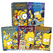 The Simpsons: Animated TV Series Complete Seasons 6 7 8 9 10 Box/DVD Set(s) NEW!