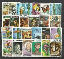 GRENADA (West Indies) Collection Packet of 25 Different POSTAGE STAMPS MNH