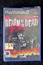 PS2 : REALM OF THE DEAD - Nuovo, sigillato ! Più di 20 colossali ambientazioni !
