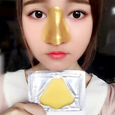 5 Stk Gold Bio Collagen Face Facial Care Nase Maske Moisture Anti-Aging Wrinkle