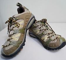 Merrell Siren Sport GTX Hiking Shoes Waterproof Women's 9 Brindle/Green Vibram