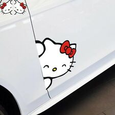 Un ensemble mignon hello kitty autocollant voiture