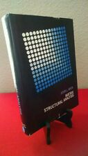 Matrix Structural Analysis by J. L. Meek (1971, Hardcover)