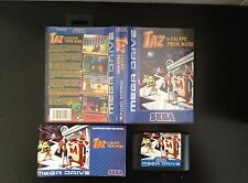 Taz in Escape from Mars (complet : boite/notice) SEGA Megadrive 1&2 MD PAL FR