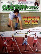 GUERIN SPORTIVO=N°39 1988=TUTTO SEUL 30 PAGINE=MASSARO=CABRINI=TANCREDI