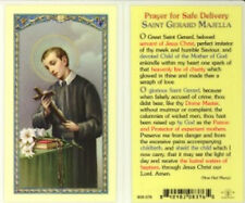 St. Gerard Prayer for a Safe Delivery Holy Card