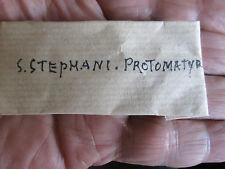 FOLDED  RELIQUARY .S.STEPHANO PROTOMARTIR