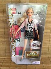 Barbie Stardoll Blonde Pink Coat Black Mini Skirt NEW NIB Space Beautiful