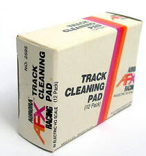1 Box 12 Packs 1974 Aurora AFX T-Jet Slot Car TRACK CLEANING PAD #2595 GreatBox!