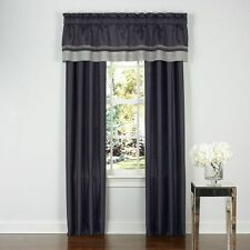 Royal Heritage Home Adare Window Valance: Charcoal *NEW*