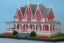 KIT to make a 1:144 Scale Gothic Mansion Miniature Dollhouse for your Dollhouse