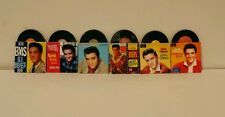 1/12th Elvis Dolls House Records Set Of 6