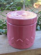 Chantal~94-11-Z~Retro Pink~Ceramic~Canister~0.8 Quart