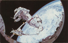 Astronaut Bruce McCandless 1986 * Apollo Pictures Post Card Salesman Adv. Sample