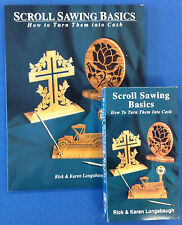 Scroll Sawing Basics by Rich & Karen Longabaugh - Set of 1 Book & 1 VHS