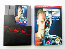 Terminator 2 Judgment Day Nintendo NES PAL B Boxed Game juego OVP