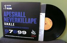 "Unkle ""Ape Shall Never Kill Ape"" 12"" EX Mo Wax Nigo DJ Krush Shadow Japan"