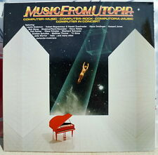 """Music from utopia ""rare 1985 2lp Doldinger/MOEBIUS/plank"