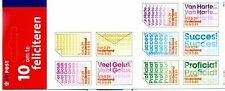 GREETINS STAMPS - NETHERLANDS 2001 self-adhesive booklet