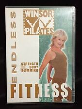 WINSOR PILATES ~ ENDLESS FITNESS STRENGTH & BODY SLIMMING DVD ~AS NEW~FREE POST
