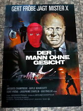 MANN OHNE GESICHT / NUITS ROUGES * A1-FILMPOSTER - GEORGES FRANJU / FRÖBE 1975