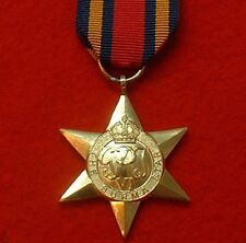 World War II Burma Star WW 2 Military Medals