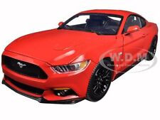 2015 FORD MUSTANG GT 5.0 RED LIMITED 1250pc 1/18 MODEL CAR BY AUTOWORLD AW221