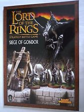LORD OF THE RINGS STRATEGY BATTLE GAME / SIEGE OF GONDOR / GAMES WORKSHOP