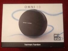 Harman/Kardon Omni 10 WiFi HD Speaker System with Bluetooth & Firecast - Black