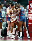 RICK MAHORN DETROIT PISTONS BAD BOYS 8x10 PHOTO