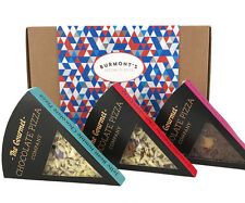 Gourmet Chocolate Pizza Company Slices Selection Gift Box - 3 Individual Slices