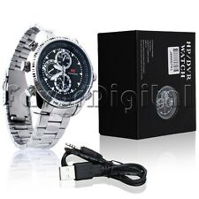 16GB Waterproof Spy Watch Camera Hidden Mini DVR 1280*960 JPG Camcorder Cam US