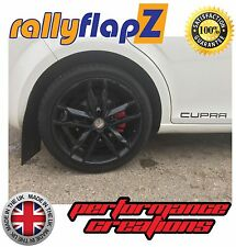 rallyflapZ to fit SEAT LEON CUPRA Mk2 2nd Gen (05-12) Mud Flaps Black (4mm PVC)