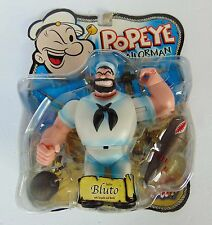 Popeye The Sailor Man ~ BLUTO Action Figure - Mezco 2001 - New