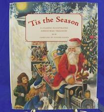 """""""Tis the Season"""" Classic Illustrated Christmas Treasury Old Fashioned Santa EUC"""