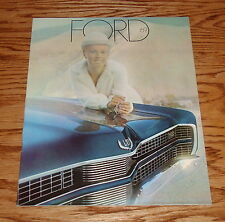 1969 Ford Full Size Cars Sales Brochure Galaxie Custom Sedans LTD 69