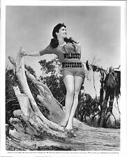 SUSAN CABOT Vintage Original PHOTO Sexy Legs BAREFOOT CANDID Busty HOT Camel Toe