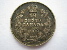 Canada 1902 10 Cents GF